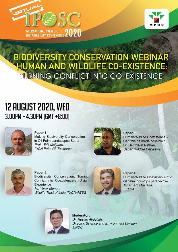 Biodiversity Conservsation webinar - MPOC - 2020-04