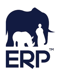 Elephants, Rhinos & People (ERP) logo