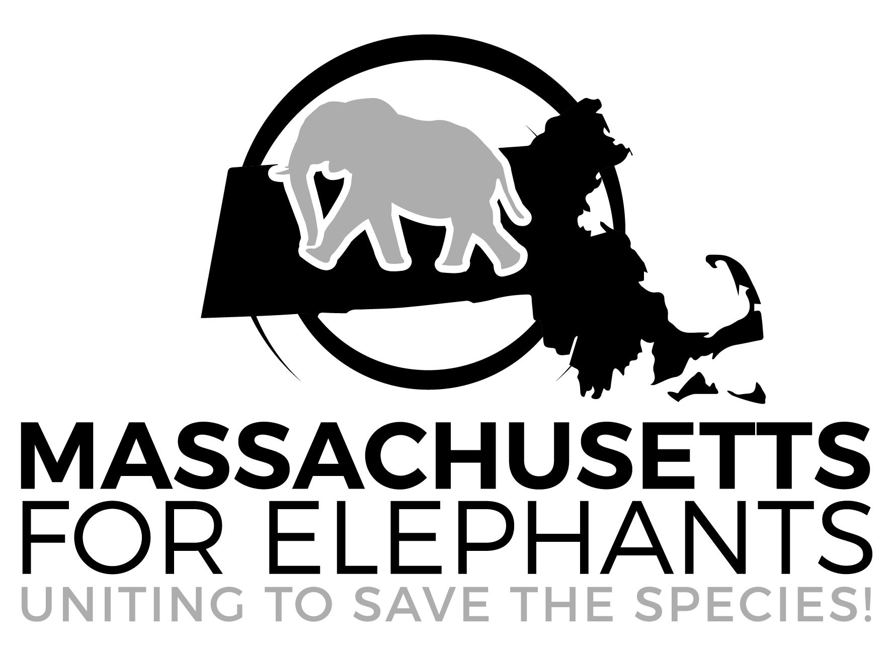 Massachusetts for Elephants logo