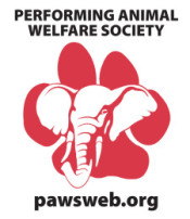 Performing Animal Welfare Society (PAWS) logo