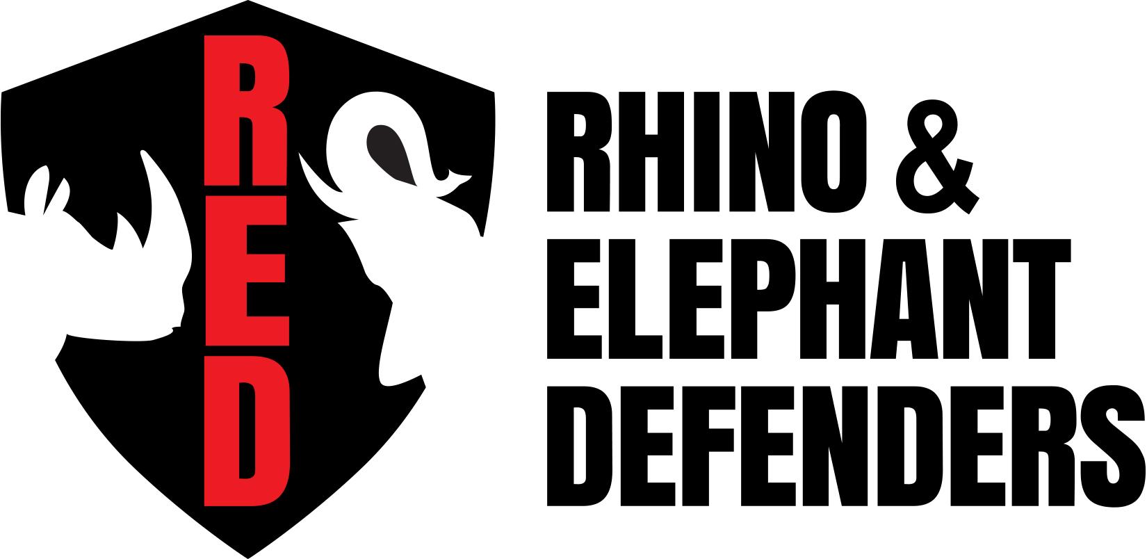 Rhino & Elephant Defenders logo