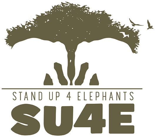 StandUp4Elephants (SU4E) logo