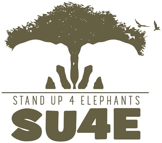 StandUp4Elephants (SU4E) logo