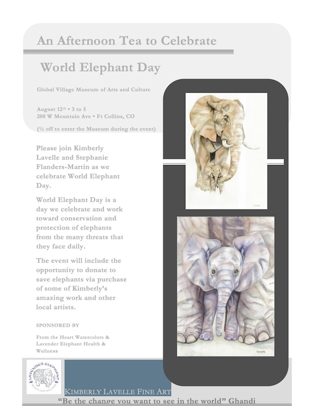 World Elephant Day Event Poster 1