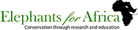 Elephants for Africa logo