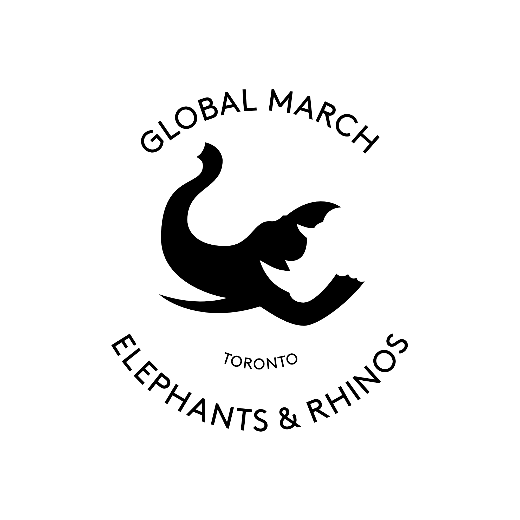 Global March for Elephants & Rhinos logo